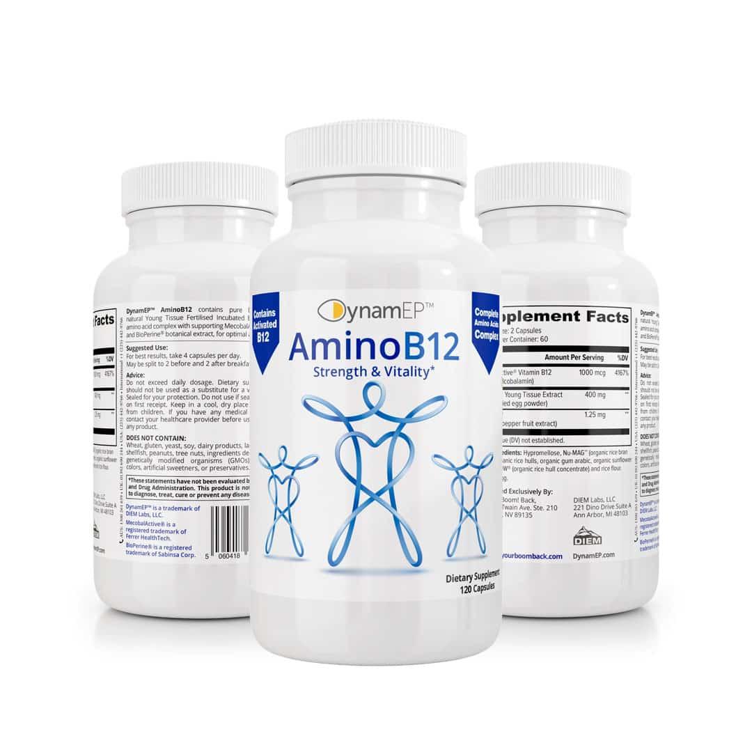 AminoB12 X3 Bottles