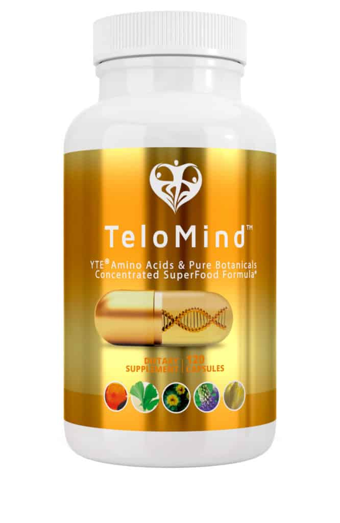 Telomind Supplement Bottle